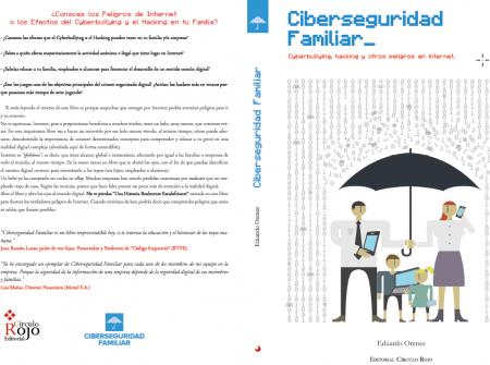 Cubierta del libro Ciberseguridad Familiar por José Bernabé